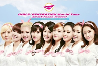 GIRLS�f GENERATION WORLD TOUR �uGIRLS & PEACE IN SEOUL�v DVD�̎ʐ^