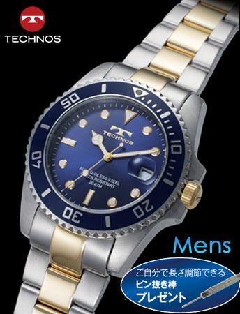 TECHNOS(テクノス)オーシャン・ダイバーズ(ブルー)(23-0335)[メンズ] e通販.com