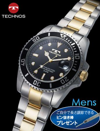 TECHNOS(テクノス)オーシャン・ダイバーズ ( ブラック)(23-0337)[メンズ] e通販.com