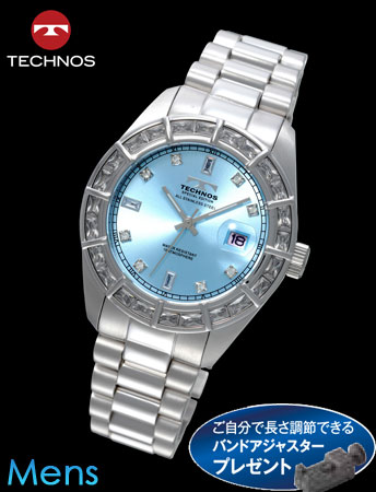 TECHNOS(テクノス)スーパープレミアム(プラチナxブルー)(23-0584)[メンズ] e通販.com