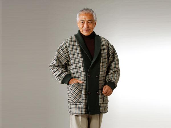 匠 ウール入り裏キルト中綿入りジャケット(26-0373) e通販.com