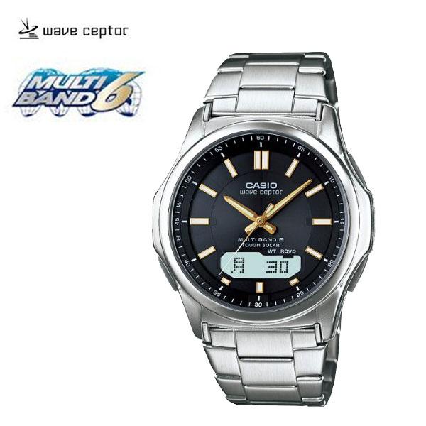 【カシオ】電波時計ウェーブセプターブラック(N8309-1)[メンズ] e通販.com