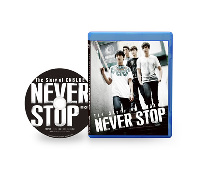 The Story of CNBLUE/NEVER STOP(ブルーレイ通常版) e通販.com