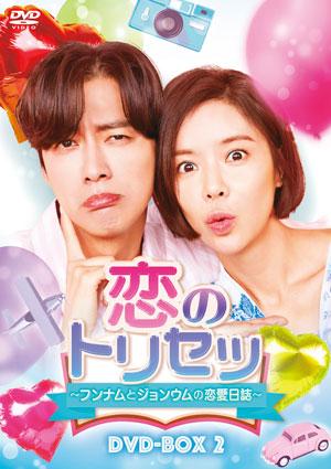 恋のトリセツ~フンナムとジョンウムの恋愛日誌~ DVD-BOX2 e通販.com