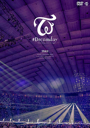 "TWICE/TWICE DOME TOUR 2019 ""#Dreamday"" in TOKYO DOME DVD (通常盤) e通販.com"