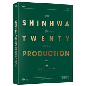 SHINHWA/SHINHWA 20th Anniversary PRODUCTION DVD e通販.com