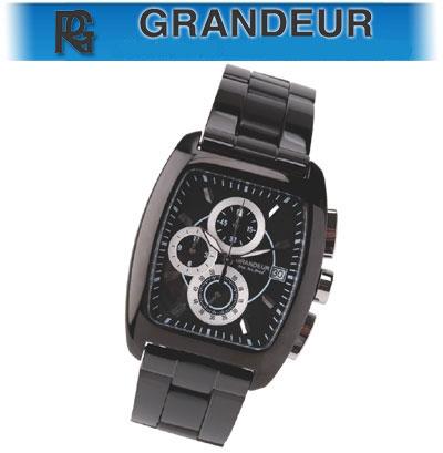 グランドール トノークロノ ブラック×ホワイト(23-0198)[メンズ] e通販.com