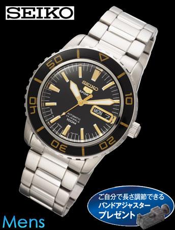 【日本製】セイコー5スポーツビンテージコレクション(ブラック)(23-0610) e通販.com
